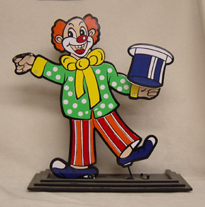 Howzutt the Clown (Wooden)