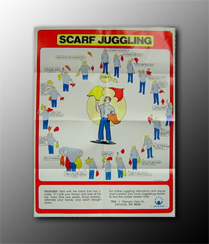 Scarf Juggling Poster