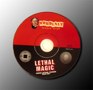 Lethal Magic DVD Using Lethal Tender Coin Set