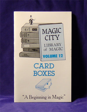 Library of Magic #12 CARD BOXES