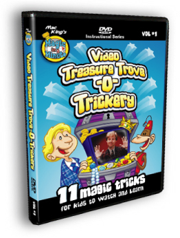 Mac King's Treasure Trove O Trickery DVD