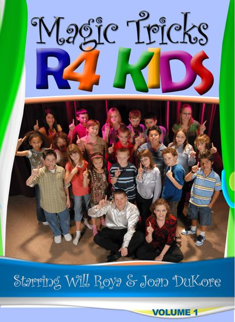 Magic Tricks R 4 Kids DVD #1
