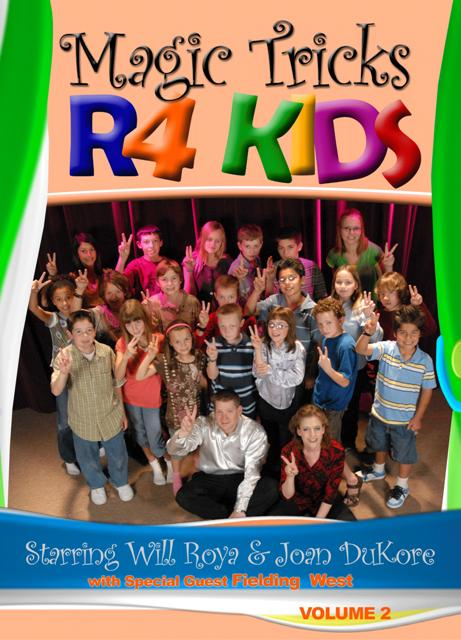 Magic Tricks R 4 Kids DVD #2