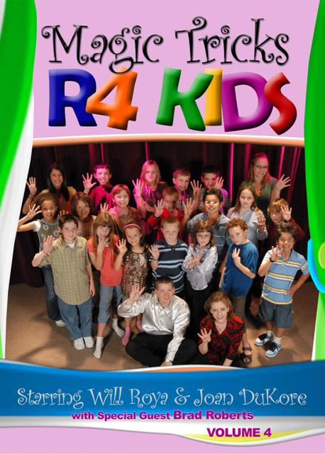 Magic Tricks R 4 Kids DVD #4