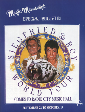 Magic Manuscript Pendragons Edition w/Special Siegfried & Roy