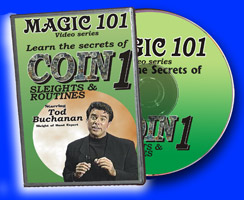 Magic 101: Coin Sleights & Routines DVD