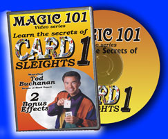 Magic 101: Card Sleights DVD