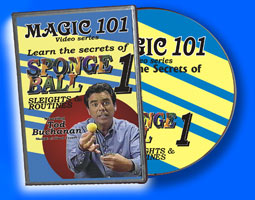 Magic 101: Sponge Ball DVD