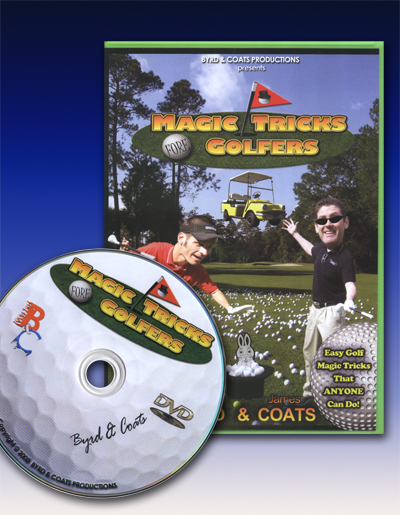 Magic Tricks Fore Golfers DVD