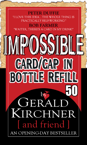 Impossible Card/Cap Bottle Refill Kit-50