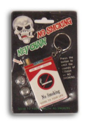 No Smoking Key Chain