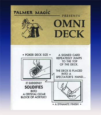 Omni Deck from Palmer Magic