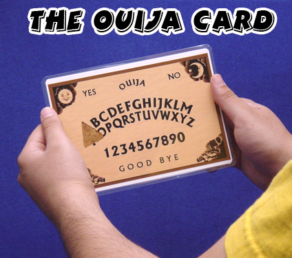 Ouija Card by Diamond Jim