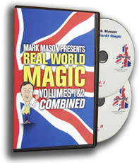 Real World Magic DVD 1&2 Mark Mason