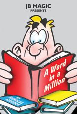 Word In A Million Book Test by JB Magic