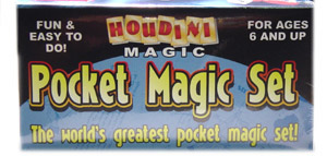 Houdini's Pocket Magic Set