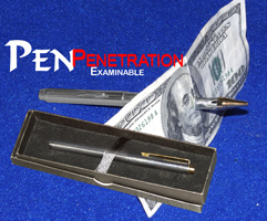 Pen Penetration with Locking gimmick