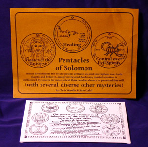 Pentacles of Solomon