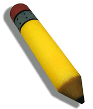 Foam Pencil (Giant 15