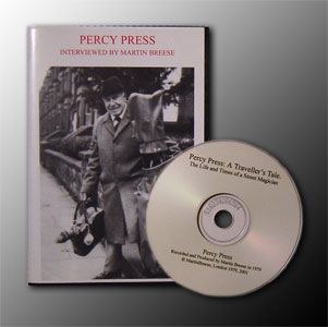 Percy Press Inteveriew CD