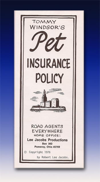 Pet Insurance Policy by Tommy Windsor