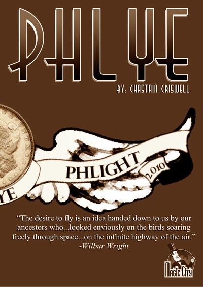 Phlye by Chastain Criswell Copper English Penny