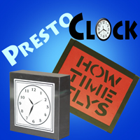 Presto Clock, Stainless Steel - Grant
