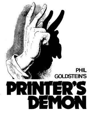 Printer's Demon by Phil Goldstein
