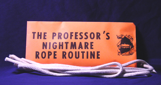 Professor Nightmare Rope Routine