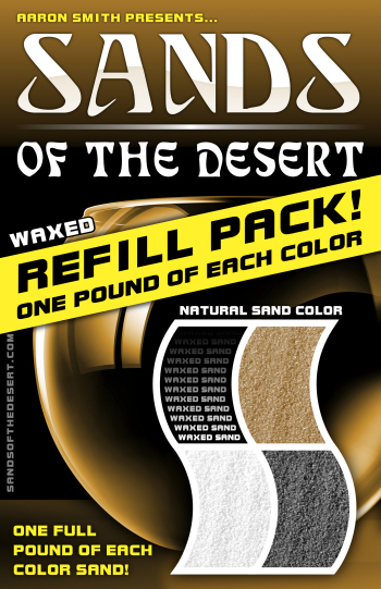 Sands of the Desert REFILL (Natural Sands) WAX