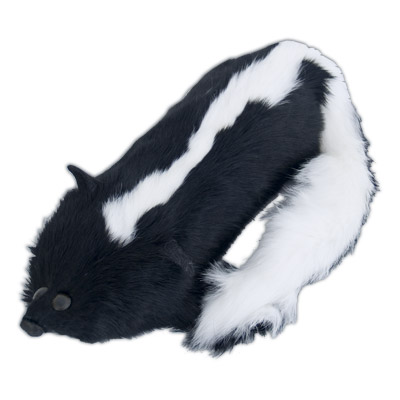 Spring Skunk (Real Fur) Lily