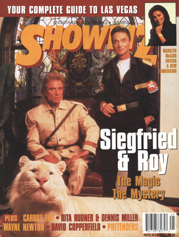 Showbiz Magazine Siegfried & Roy Edition