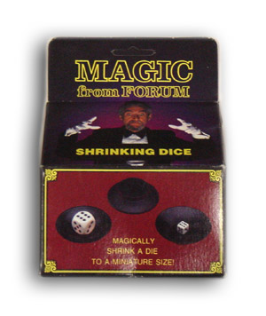 Shrinking Dice (Hanging Box)