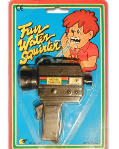 Squirt Movie Camera