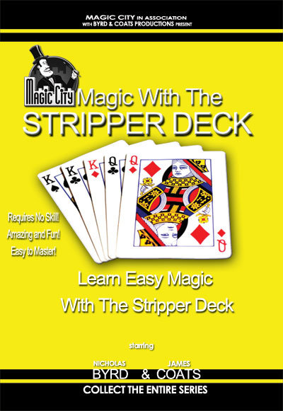 Magic with the Stripper Deck DVD