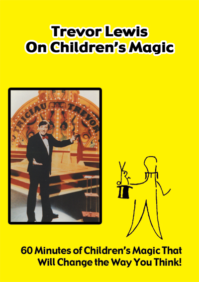 Trevor Lewis on Children's Magic DVD