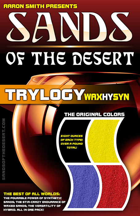 TRYlogy of Sands (Synthetic, Waxed, and Hybrid)