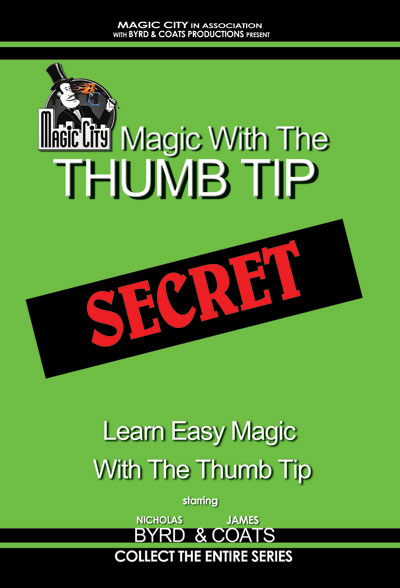 Magic With the Thumb Tip-DVD