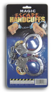 Handcuffs (Trick with release)
