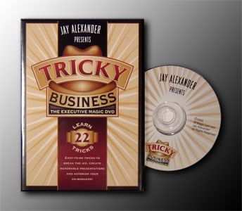 Tricky Business DVD by Jay Alexander