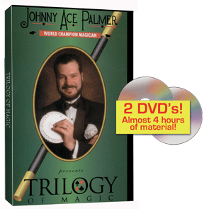 Johnny Ace Palmer's Trilogy 2 DVD set