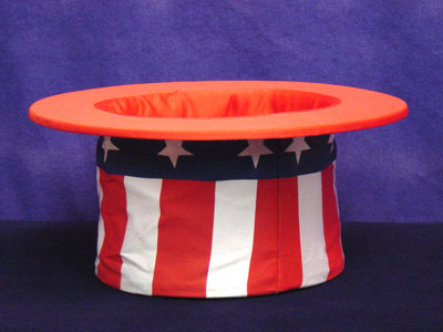 Top Hat Collapsible (Uncle Sam)