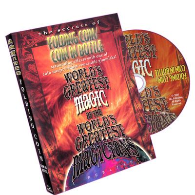 World's Greatest Magic Folding Coin/Coin in Bottle DVD