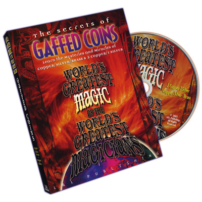 World's Greatest Magic Gaffed Coins DVD