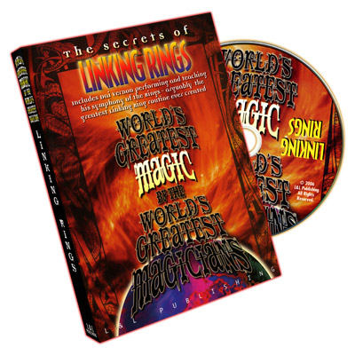 World's Greatest Magic Linking Rings DVD