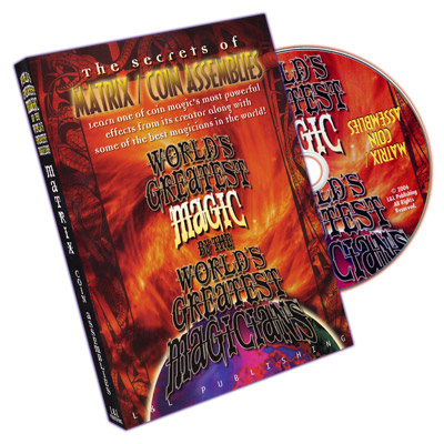 World's Greatest Magic Matrix & Coin Assemblies DVD