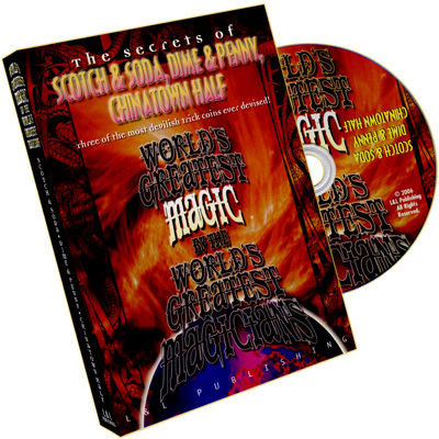 World's Greatest Magic Scotch & Soda, Dime & Penny, ChinaTown Half  DVD