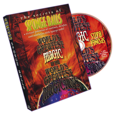 World's Greatest Magic Sponge Balls DVD