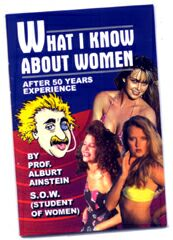 What I Know About Women (Blank Book)