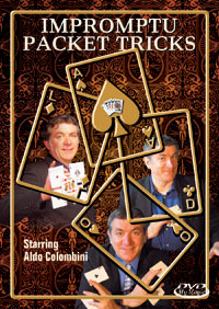 Impromptu Packet Tricks DVD by Aldo Colombini